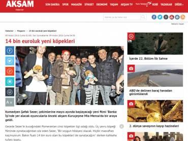 Akşam Haberler – 14 Bin Euro'luk Yeni Köpekler