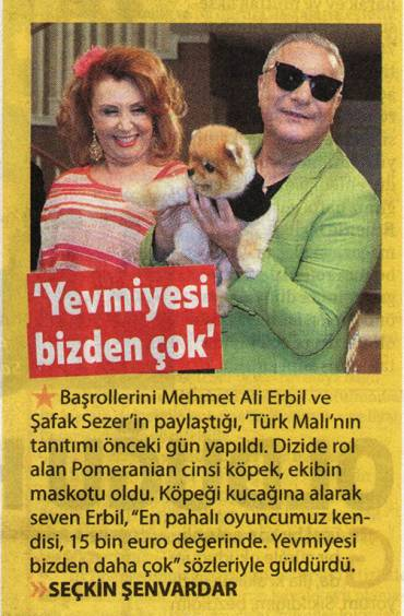 Milliyet Cadde – 'He earns more than us'