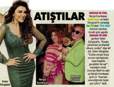 Hürriyet Kelebek – 'Bickered at the press event'